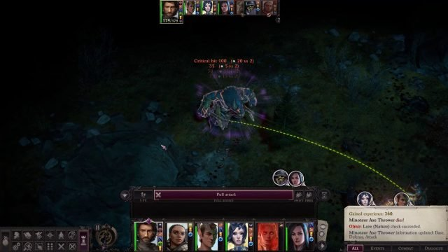7 Attacks with Critical Hit in Combat Cult Leader Warpriest Pathfinder Wrath Of The Righteous Build
