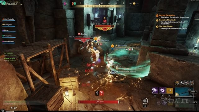 Amrine Expedition Combat How to Level Up Your Character and Weapons FAST
