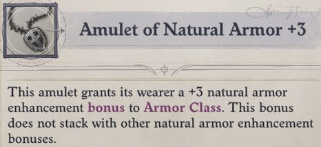 Amulet of Natural Armor Cult Leader Warpriest Pathfinder Wrath Of The Righteous Build