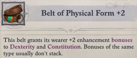 Belt of Physical Form Cult Leader Warpriest Pathfinder Wrath Of The Righteous Build
