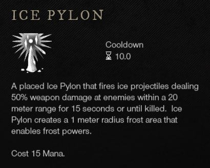 Ice Pylon Ice Gauntlet Ability New World Weapon Guide Best Weapon Skills And Abilities For Your Builds