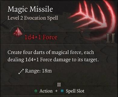 Magic Missile Spell Baldur's Gate 3 Builds Sorcerer Class Guide