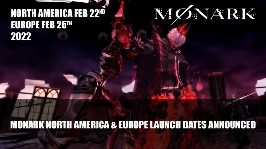Monark Launches February 22nd 2022 in North America, February 25th in Europe