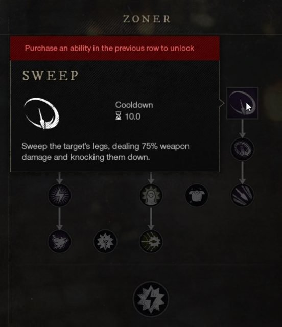 Sweep Spear Ability New World Weapon Guide Best Weapon Skills And Abilities For Your Builds
