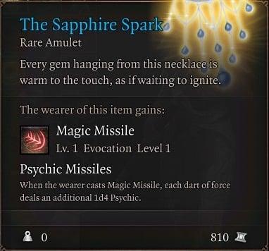 The Sapphire Spark Baldur's Gate 3 Builds Sorcerer Class Guide