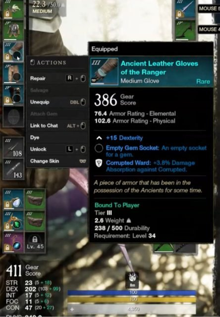 the-hunter-bow-spear-build-guide-armor-weight-guide