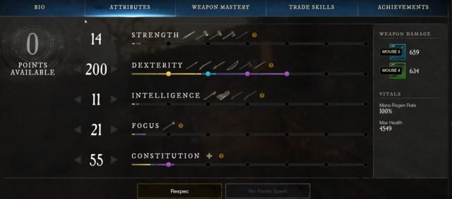 the-hunter-bow-spear-build-guide-attributes-dex-strength